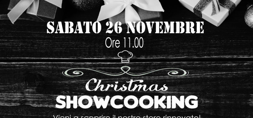 Christmas Showcooking