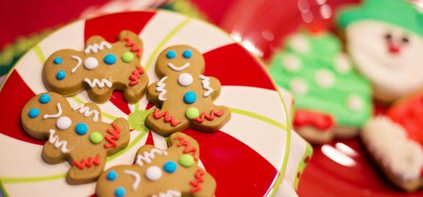 Biscotti di pastafrolla Natale