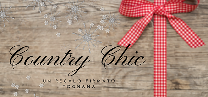 Country Chic in regalo!