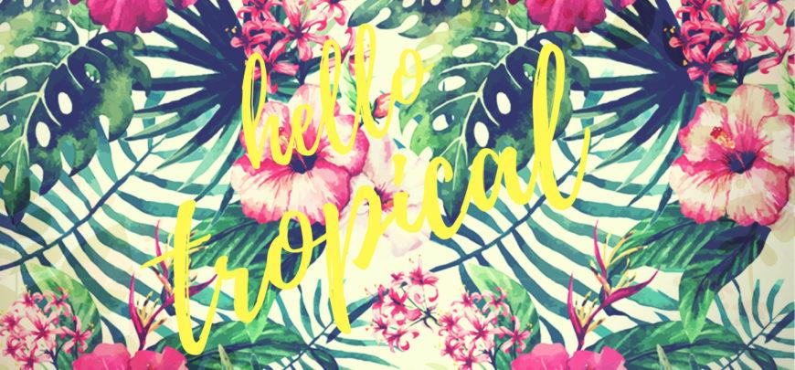 Ispirazione tropical