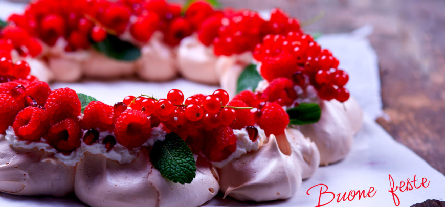 Ricetta pavlova natalizia