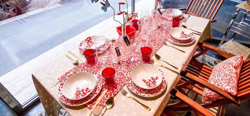 Vivi il tuo spazio all'aperto: apparecchia la tavola!